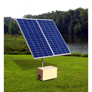 the pond report > build a solar pond aerator instructions for solar direct drive 12 volt dc solar aeration systems