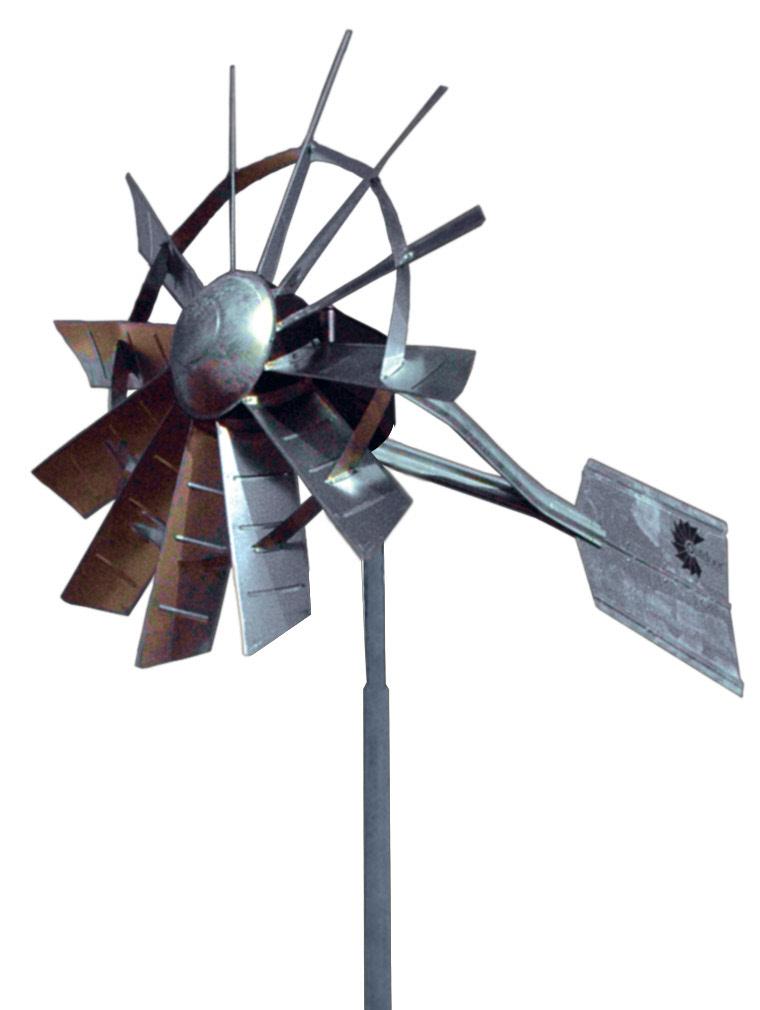 25 Single Pole Windmill Aeration System Free Shipping