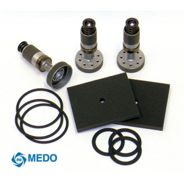 Replacement Parts for Medo® Linear Piston Air Compressors - Rebuild Kits