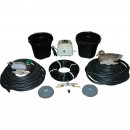 Complete Aeration System - Includes Air Pump, 2 Diffusers, Weighted Hose and Accessories