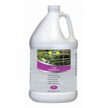 Concentrated Liquid Bacteria for Lakes & Ponds - Pond-Vive®  Liquid