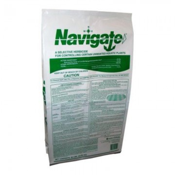 Navigate® Selective Herbicide - Kills water milfoil, water stargrass, coontail, spatterdock, water lilies, and watershield