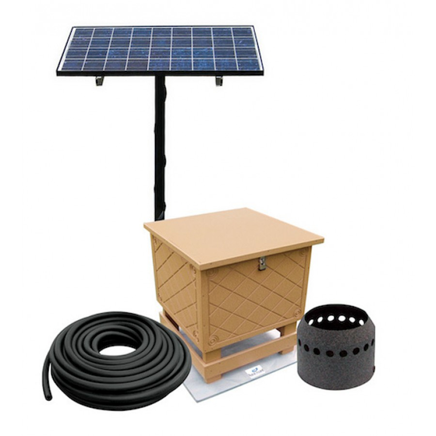 Solar Pond Aeration Wiring Diagram Reinvent Your Cell Systems For Large Lakes Rh Thepondreport Com