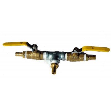 "Two-Way Splitter & Three-Way Splitter Valve Manifold for 1/2"" Airlines"