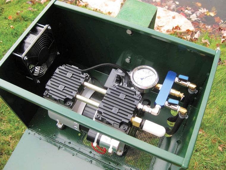 Stratus 174 Compressor In Cabinet 1 4 Hp Or 1 2 Hp