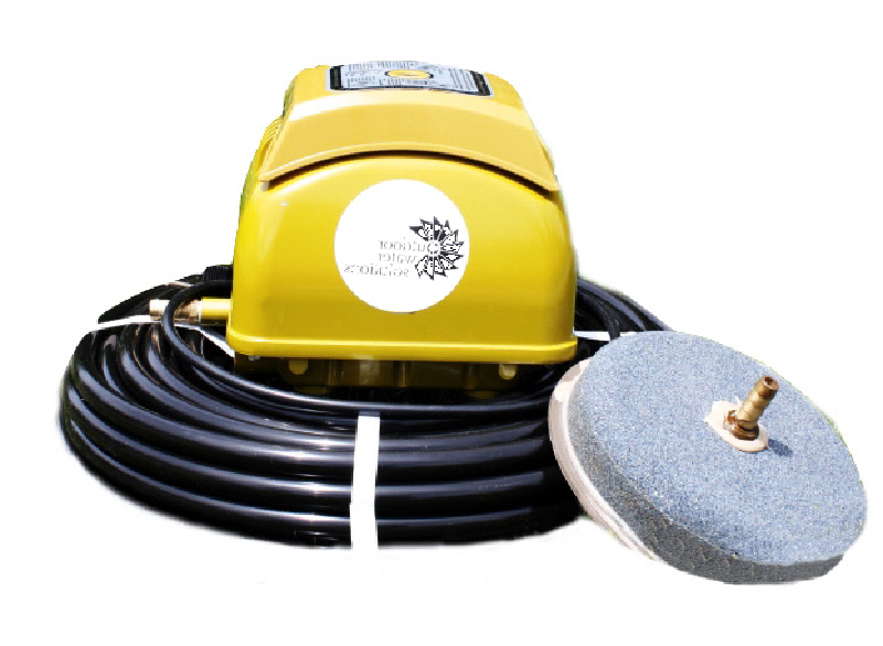 Aermaster Small Pond Aeration Systems With Linear Air Pump