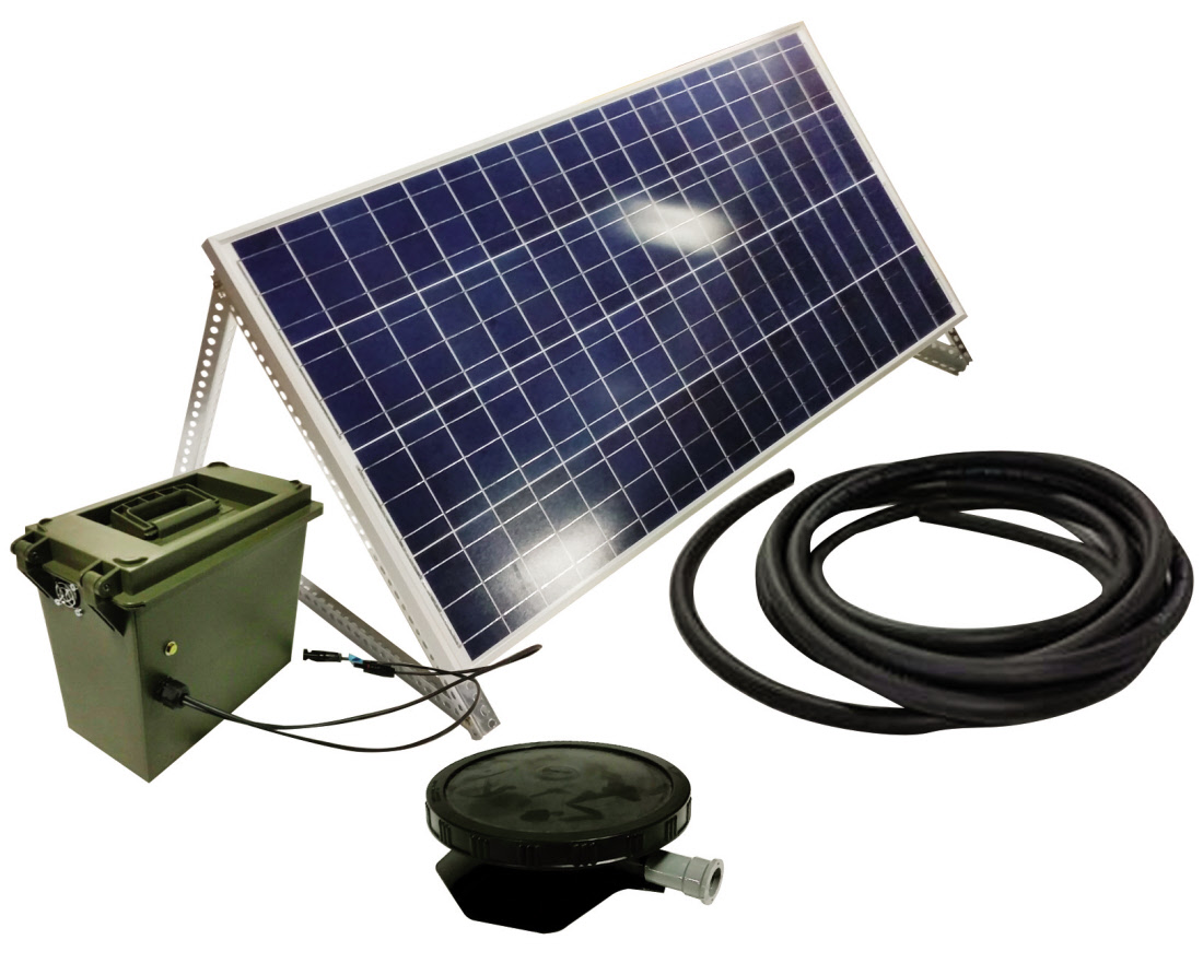 Solar Direct Aeration Systems For Small Ponds