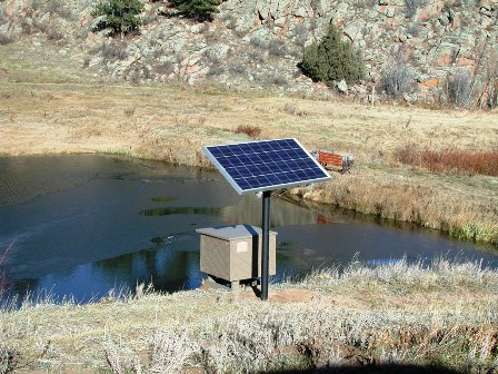 Solar Aeration Systems For Large Pond Amp Lakes